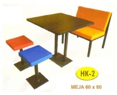 Meja Makan HPL Polaris HK 2