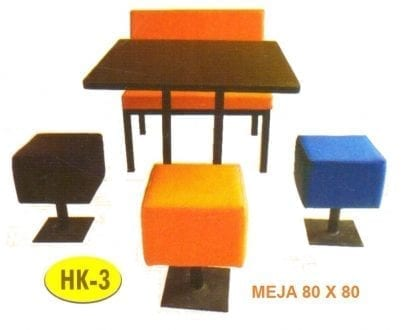 Meja Makan HPL Polaris HK 3
