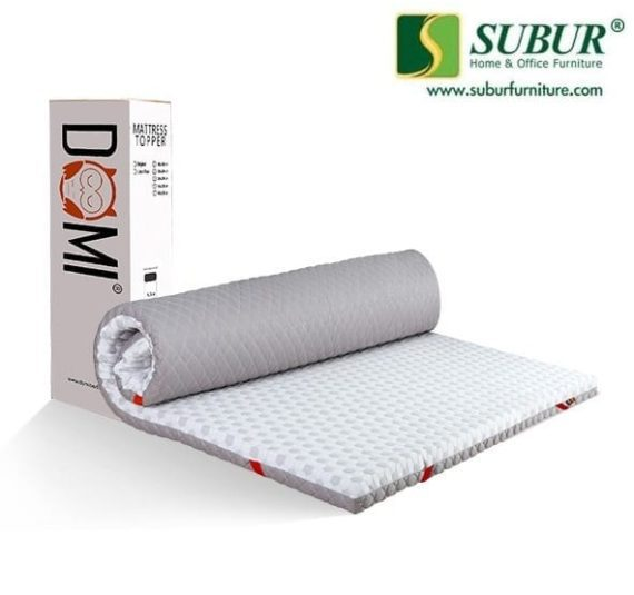 Matrass Topper Latex Maxi 8cm Domi Bed