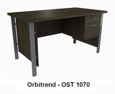 Meja Kerja 1/2 Biro Berikut Laci Orbitrend type OST 1070