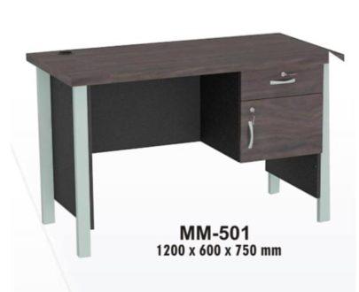VIP Meja Kantor 1/2 Biro Berikut Laci type MM 501
