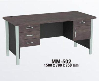 VIP Meja Kantor 1 Biro Berikut Laci type MM 502