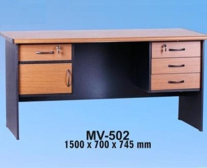 VIP Meja Kantor 1 Biro Berikut Laci type MV 502 A