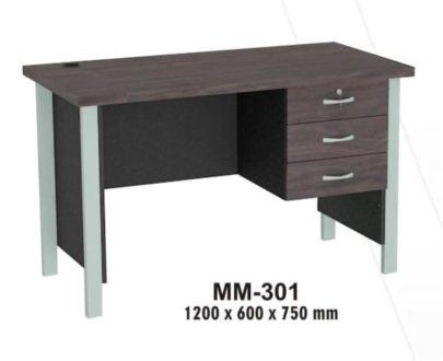 VIP Meja Kantor 1/2 Biro Berikut Laci type MM 301
