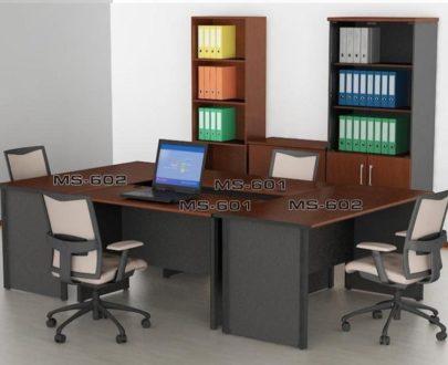 VIP Meja Kantor 1 Biro Tanpa Laci type MS 602