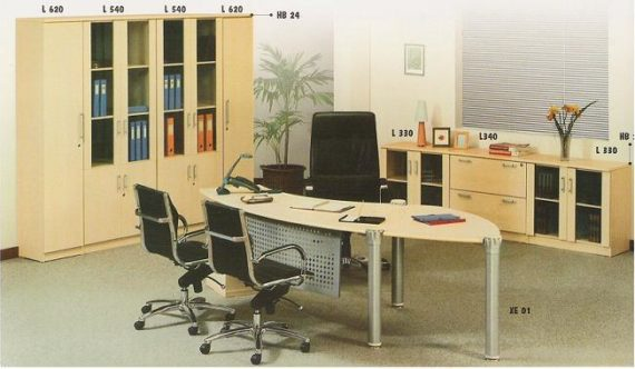 Aditech Meja Kantor Astro Series 2