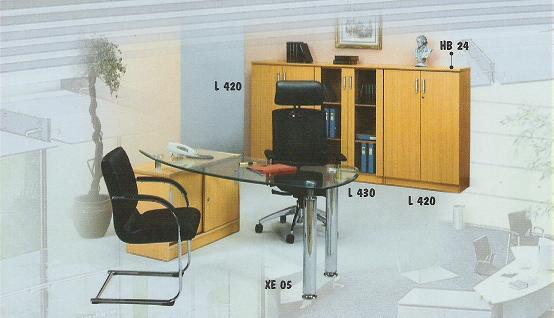 Aditech Meja Kantor Astro Series 4