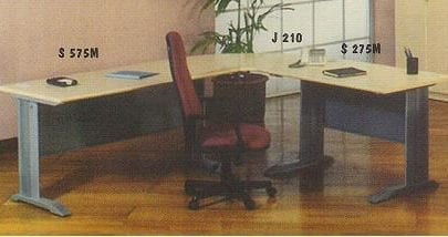 Aditech Meja Kantor Tanpa Laci type S 275 M S 575 M J 210