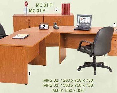 Aditech Meja Kantor Maxima Series 1