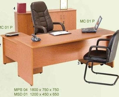 Aditech Meja Kantor Maxima Series 2
