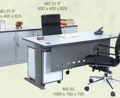 Aditech Meja Kantor Tanpa Laci type MS 03