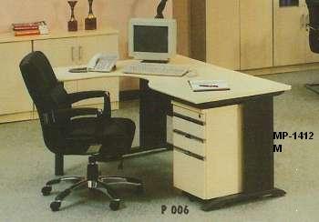 Aditech Meja Kantor L type M 1412 M P 006