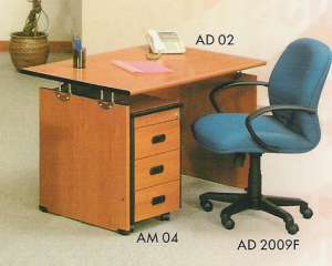 Aditech Meja Kantor type AD 02 Laci type AM 04