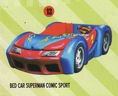 Bigland Bed Car Superman Comic Sport