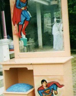Duco Meja Rias Anak Superman