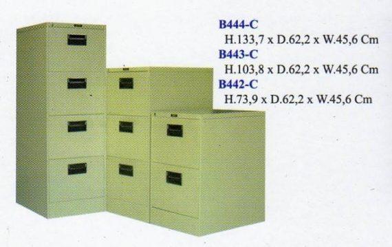 Filling Cabinet Elite Besi 2 Laci type B4 2C