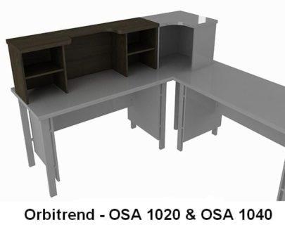 Meja Resepsionis Orbitrend type OSA 1020
