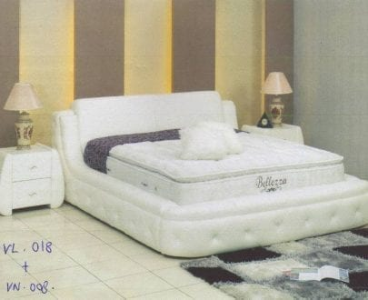Vitus Bed Frame type VL 018 Nakas VN 008