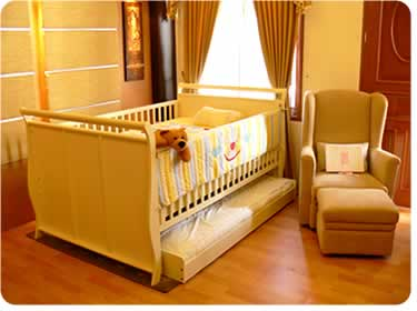 Babybelle Ranjang Bayi / Babybox type VICTORIA