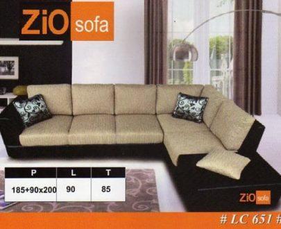 Zio Sofa L 3 Seater SM type LC 651