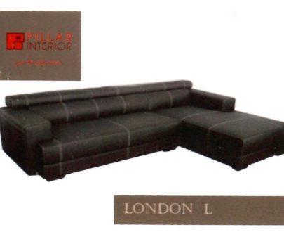Sofa L London Pillar